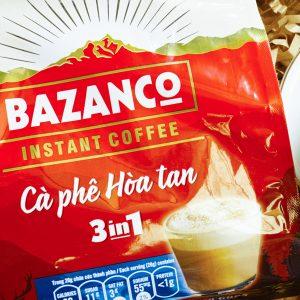 Cà Phê Hòa Tan 3in1 Bazanco